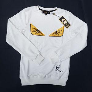 sweatshirt fendi white
